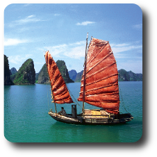 Boot – Vietnam Studienreise